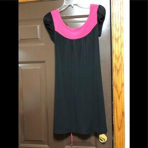 Cap shoulder dress